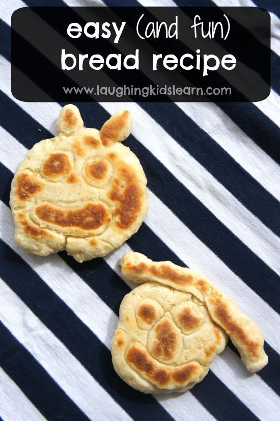 Fun and easy no yeast bread you can make with kids.