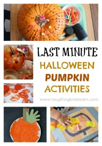 Last minute halloween activities