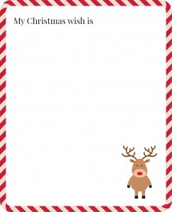 My Christmas Wish Printable