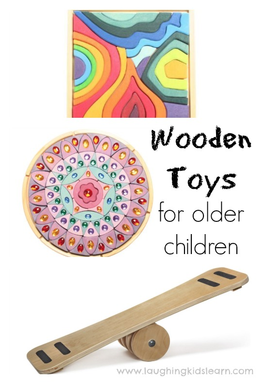Wooden toys that make a great gift for older children
