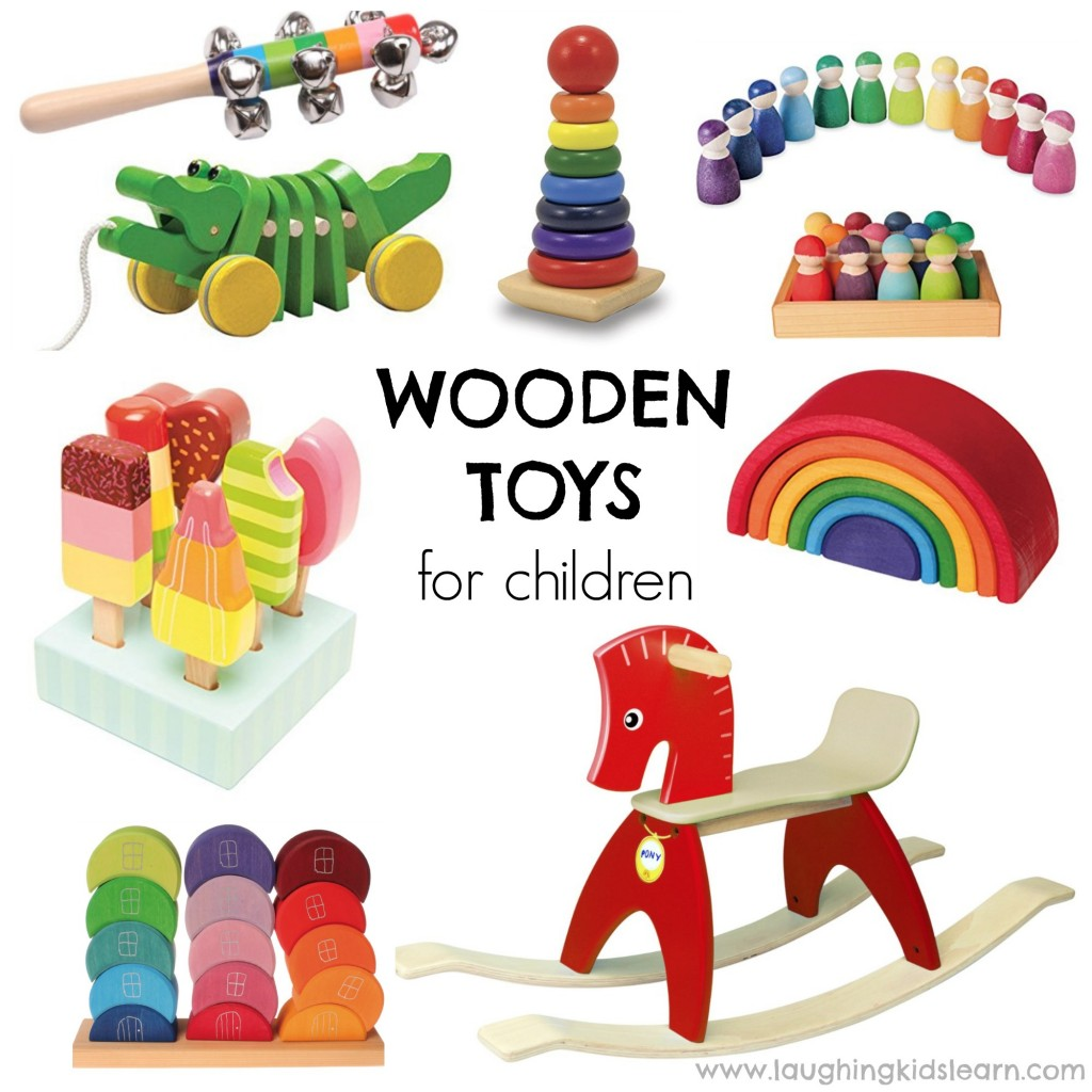 Wooden toys children would love to receive as a gift this Christmas