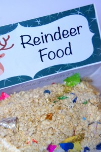 Reindeer food for Christmas