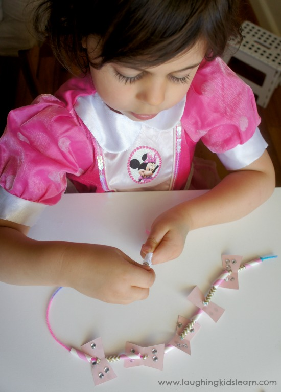Simple threading activity for kids