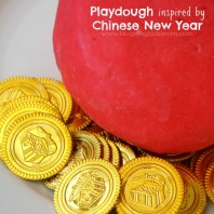 Playdough inspired by Chinese New Year