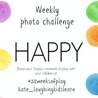 #52weeksofplay: Happy