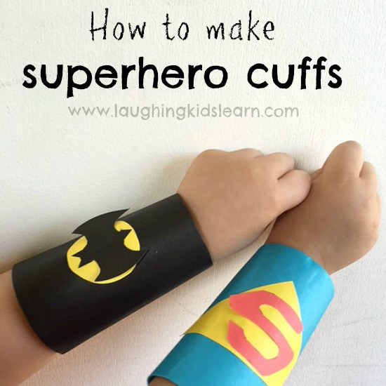 How to make superhero cuffs