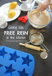 Giving kids free rein in the kitchen