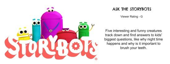 Ask the Storybots on Netflix