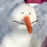 Do you want to build a frozen snowman with kids. Here is how to do it.