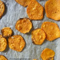crunchy sweet potato