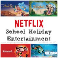Netflix School Holiday Entertainment with Disney classics