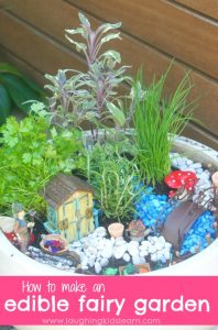 How to make a herb fairy garden for kids