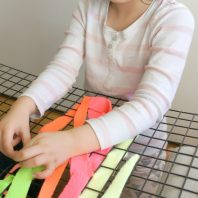 threading material for fine motor skills with kids