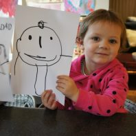 Grace with picture for Drawsome