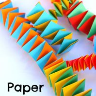 How to make Paper Springs for fine motor development and as a fun activity to do at home, school or on camp