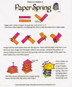 Making paper springs