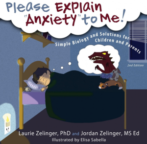 Please explain anxiety to me is a childrens book for children suffering anxiety or are worried about something
