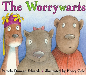 The Worrywarts is a picture story book for children suffering anxiety or worries