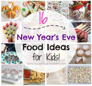 Simple and fun New Years Eve food ideas for kids