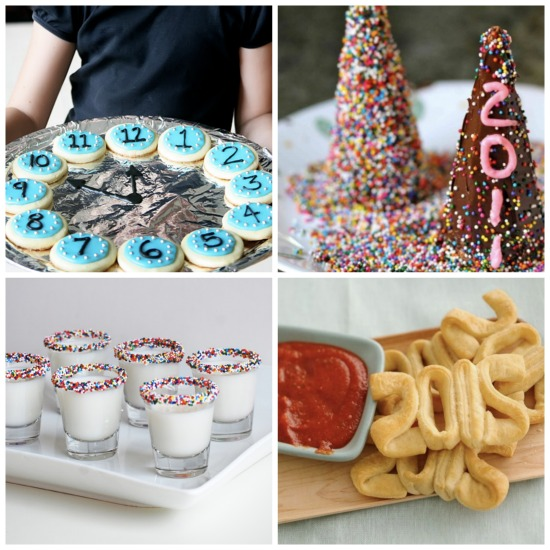 Kids food ideas for new years eve