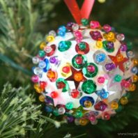 christmas bauble for kids to make