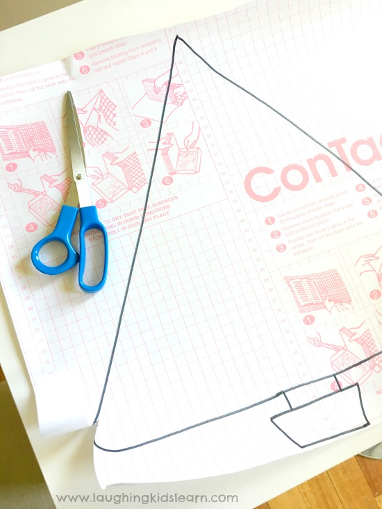 contact paper activity for kids