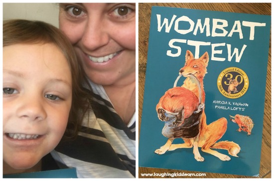 Reading together of wombat stew