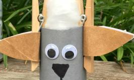 Billy Goats Gruff craft idea for kids