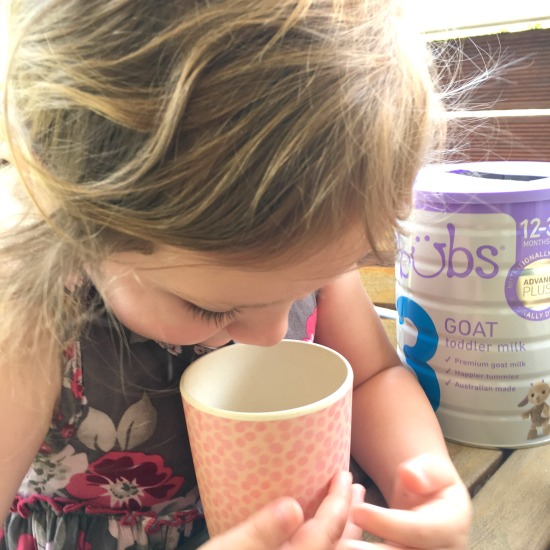 Bubs toddler goats milk