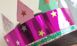 Queen's Crown craft for kids