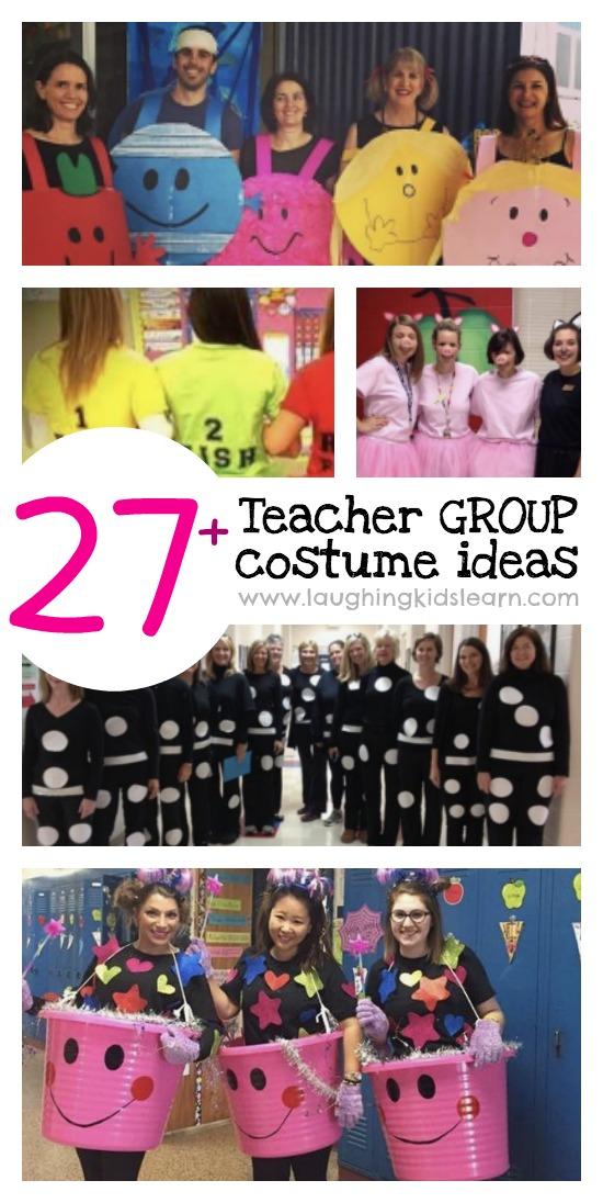 27+ awesome teacher group costume ideas