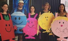Teacher group costume ideas mr men