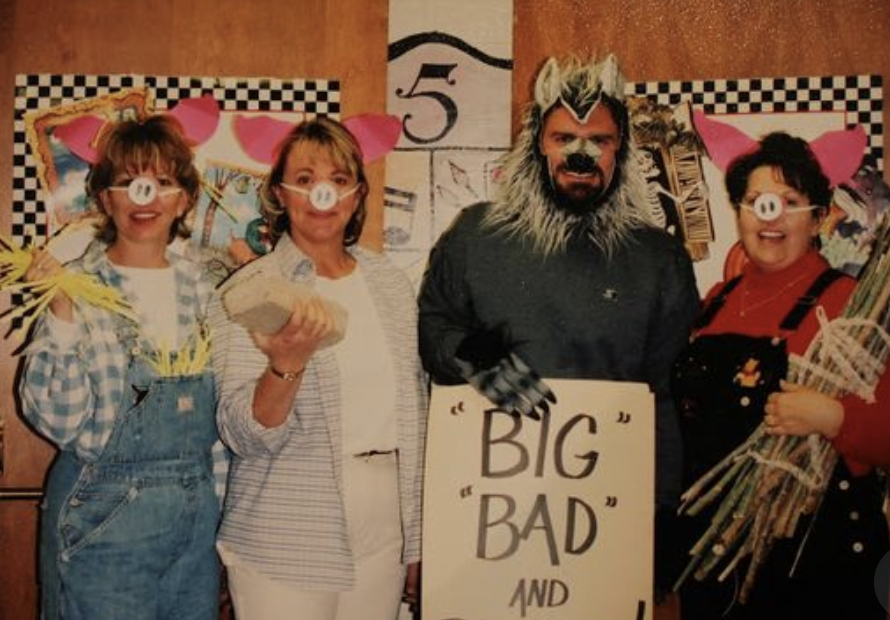 teacher group costume ideas three pigs  sc 1 st  Laughing Kids Learn & 27+ awesome teacher group costume ideas - Laughing Kids Learn