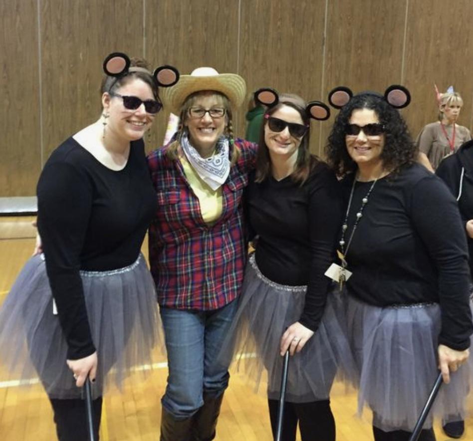 teacher group costume ideas three blind mice