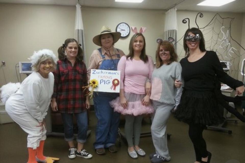 teacher group costume ideas charlottes web