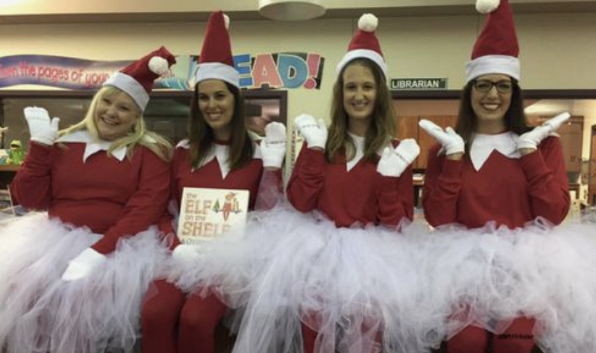 best christmas characters to dress up as + awesome teacher group costume ideas - laughing kids learn