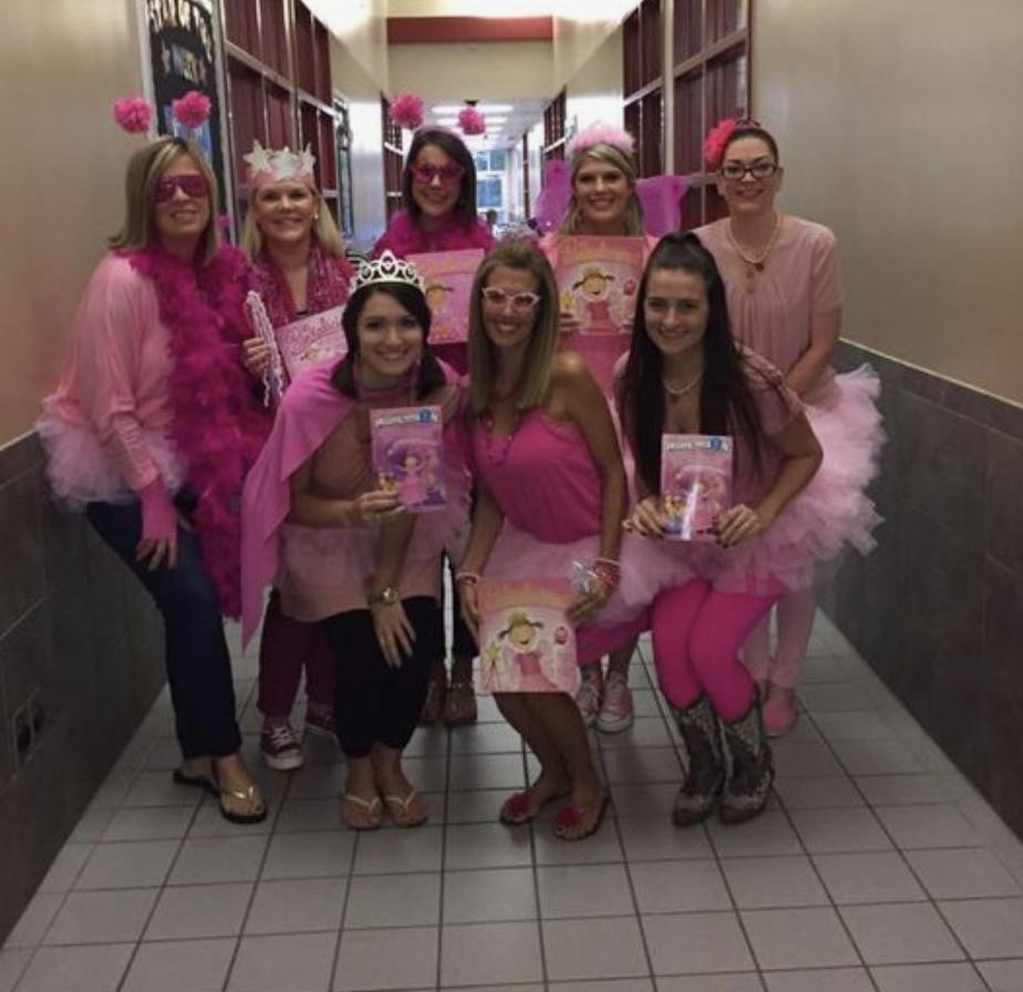 teacher group costume ideas pinkalicious