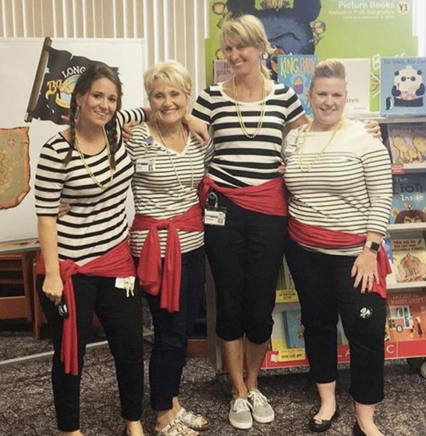 teacher group costume ideas pirates
