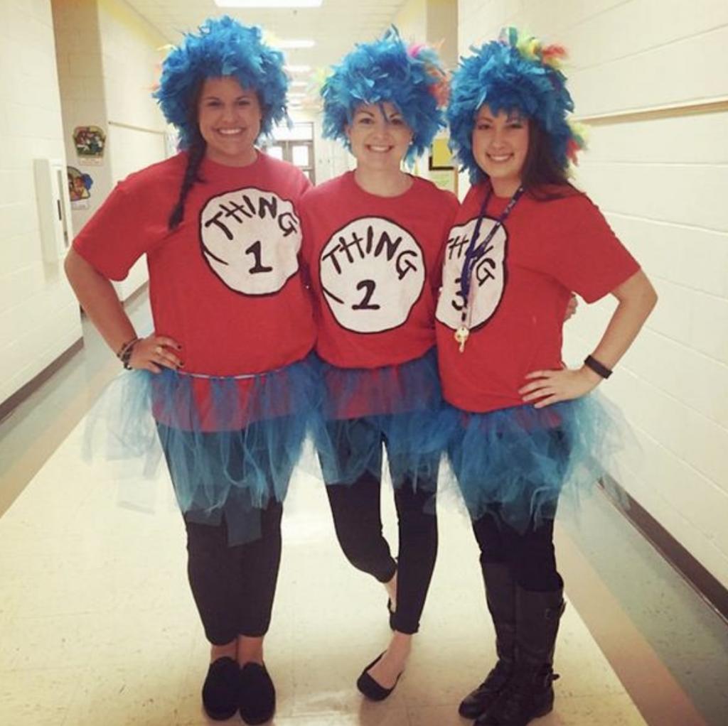 teacher group costume ideas thing