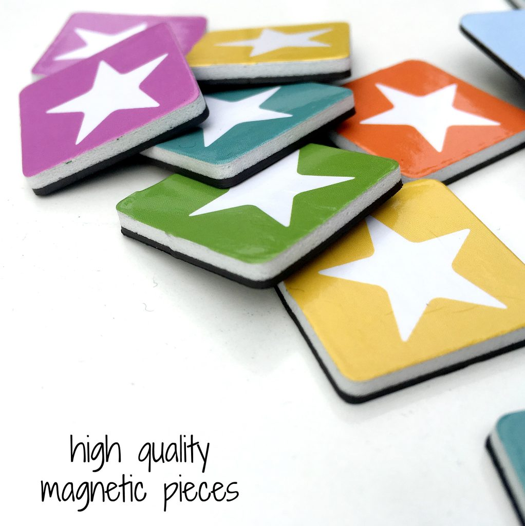 high quality magnetic pieces on reward chart for amazon