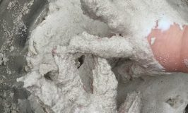 sand slime kids fingers for sensory play