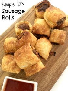 How to make quick and easy sausage rolls with your kids
