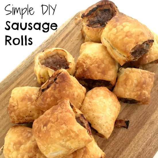 Simple and easy sausage rolls