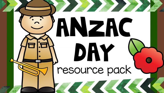 ANZAC day resource pack