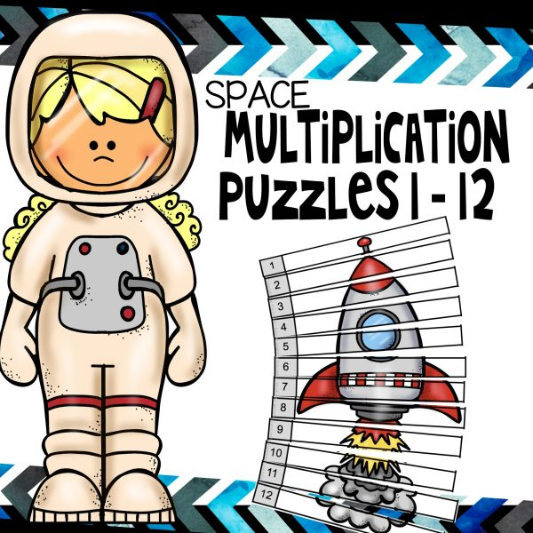 Space multiplication puzzles 1 12
