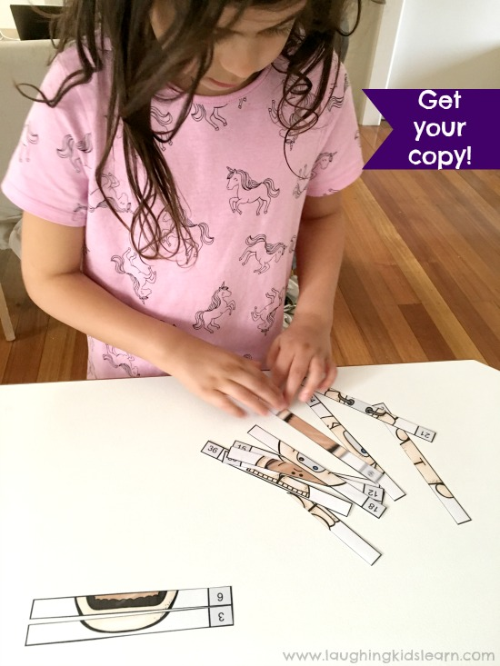 Space theme skip counting to help children learn about multiplication. Great for children at school or homeschooling.
