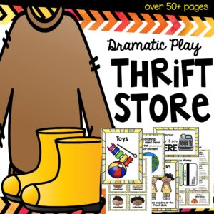 Dramatic thrift store play pack