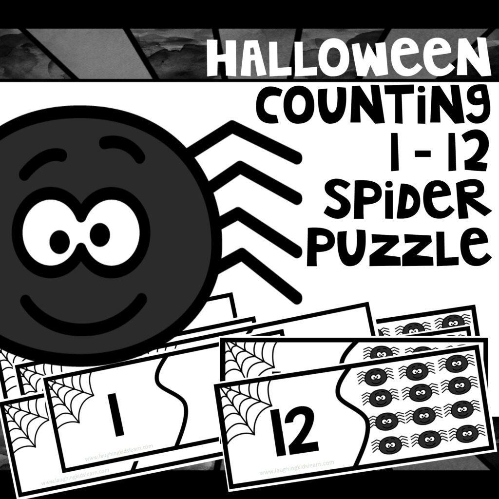 Halloween inspires new learning opportunities. This Halloween counting activity using numbers 1 to 12 is great for helping your children consolidate basic numbers to ten and slightly beyond.  #halloween #halloweenmath #halloweencounting #countdracular #countingactivity #halloweenactivities #basicnumbers #numberstoten #onetoten #earlyyears #earlyyearsteachingideas #lovetolearn #learnwithplay #tpt #teacherspayteachers #funathome #homeschool