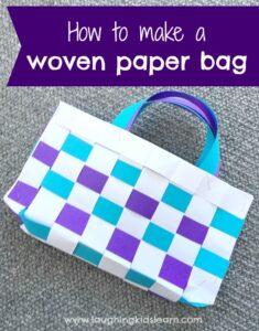 Paper bag craft for kids #papercraft #paperbag #preschool #school #campingactivities #camping #lovetomake #diybag #kidscrafts #lovetomake #waldorf #homeschooling #playathome #papercrafting #paper #makewithpaper