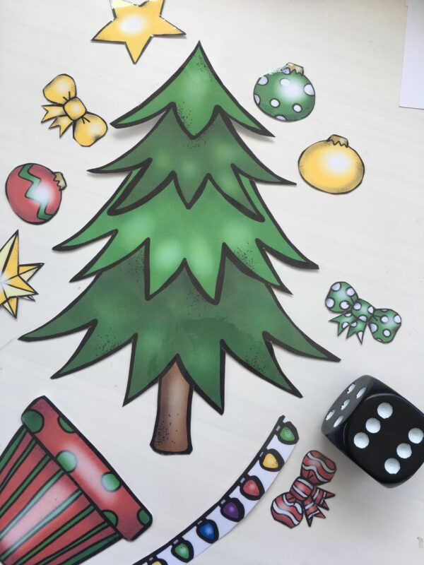 build a christmas tree ideas and game